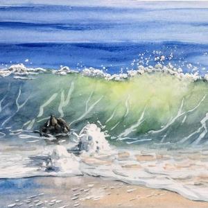 Sunlit-Wave
