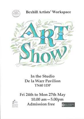 Studio of the De La Warr Pavilion, 24-27 May, 10am-5pm